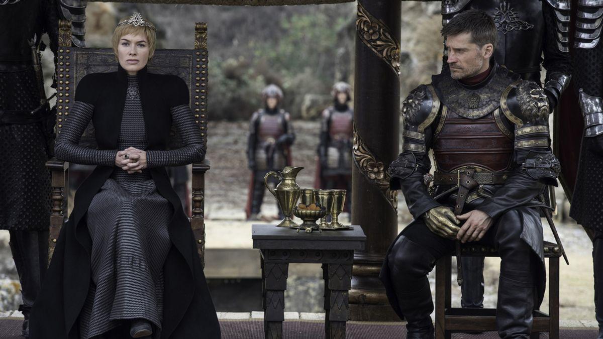 Cercei y Jaime Lannister en el capítulo final de la séptima temporada de 'Juego de Tronos'