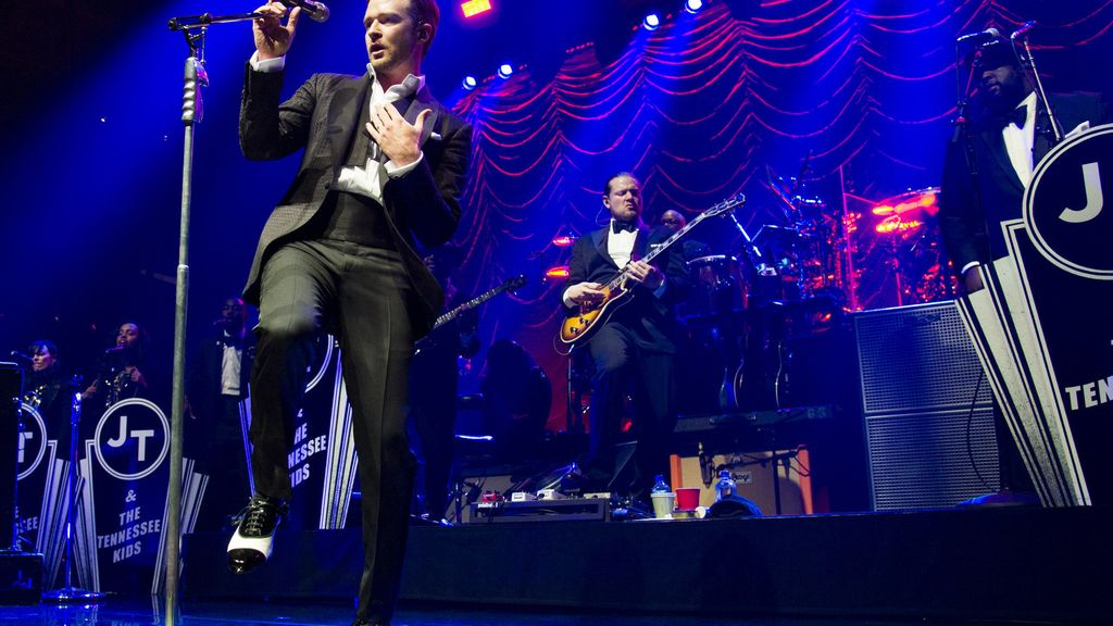 Justin Timberlake despide el 20/20 Experience World Tour en Las Vegas con Netflix