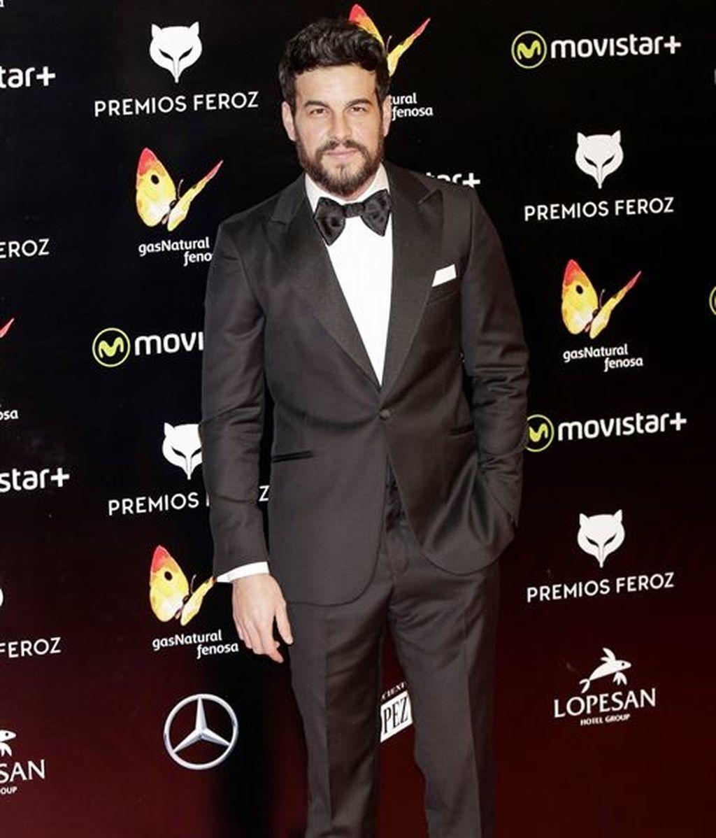 Mario Casas en los Premios Feroz