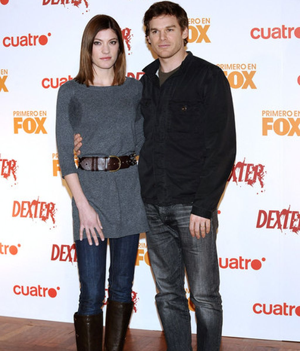Michael C. Hall y Jennifer Carpenter