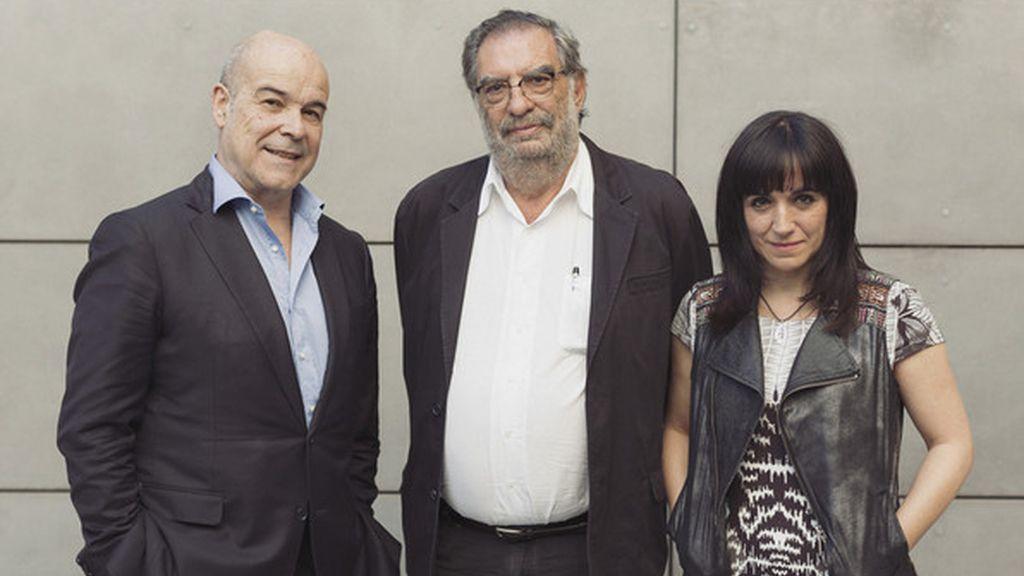 Antonio Resines y Enrique González Macho