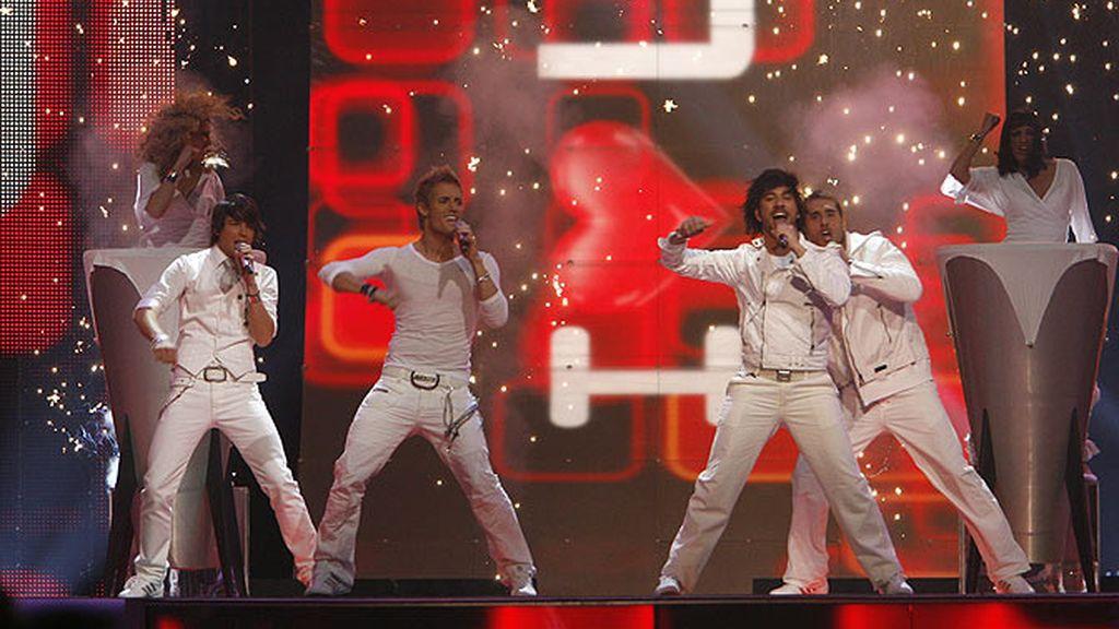 D'Nash en Eurovisión 2007