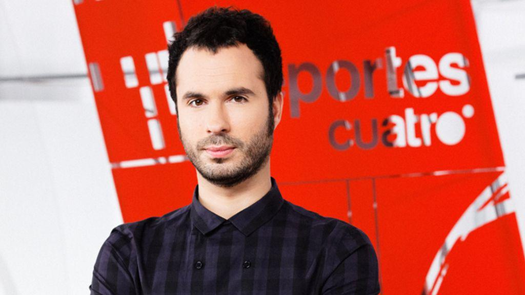 Luis García, con Juanma Castaño en 'Deportes Cuatro fin de semana'