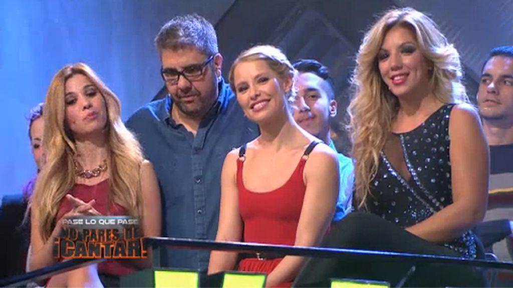 Natalia, Soraya y Rebeca, 'sufridoras' en 'Killer karaoke'