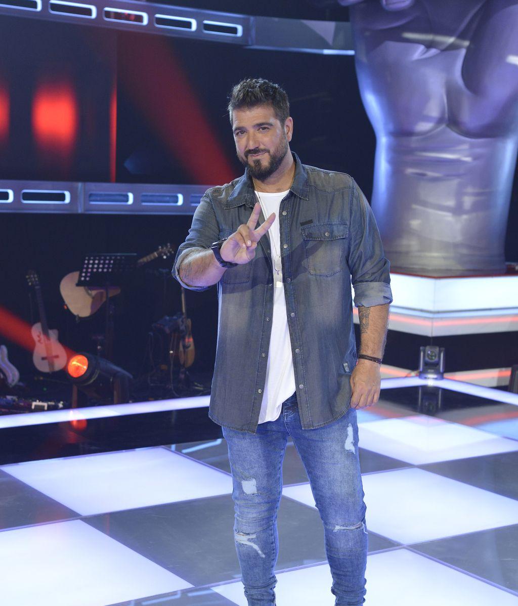 Antonio Orozco, 'coach' de la cuarta edición del programa de Telecinco 'La voz kids'