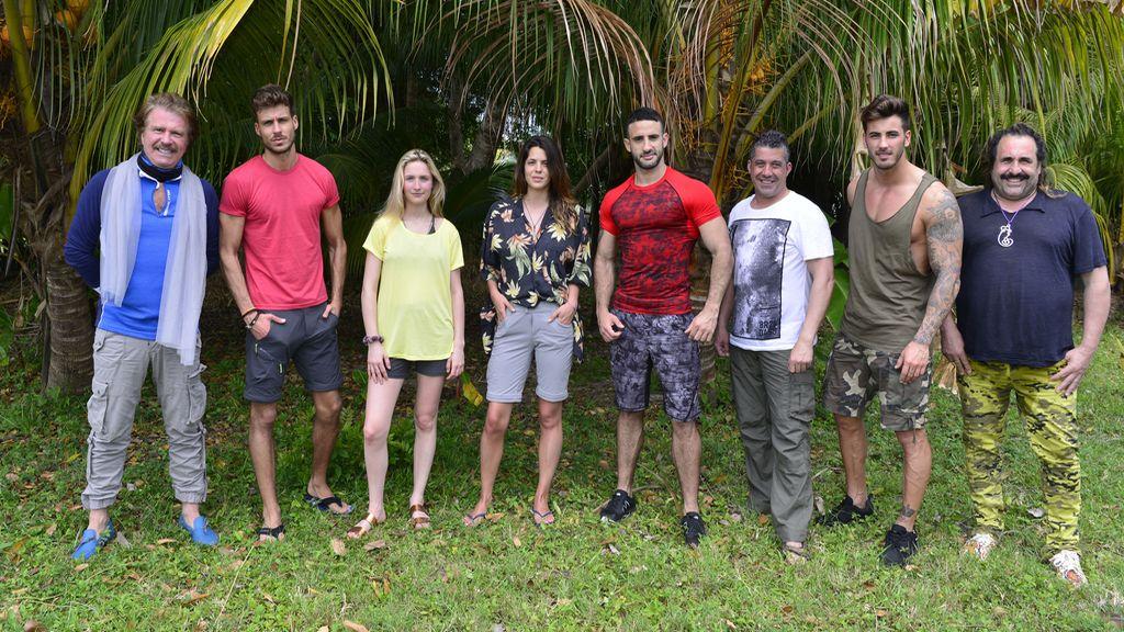 Concursantes de 'Supervivientes' en 2017