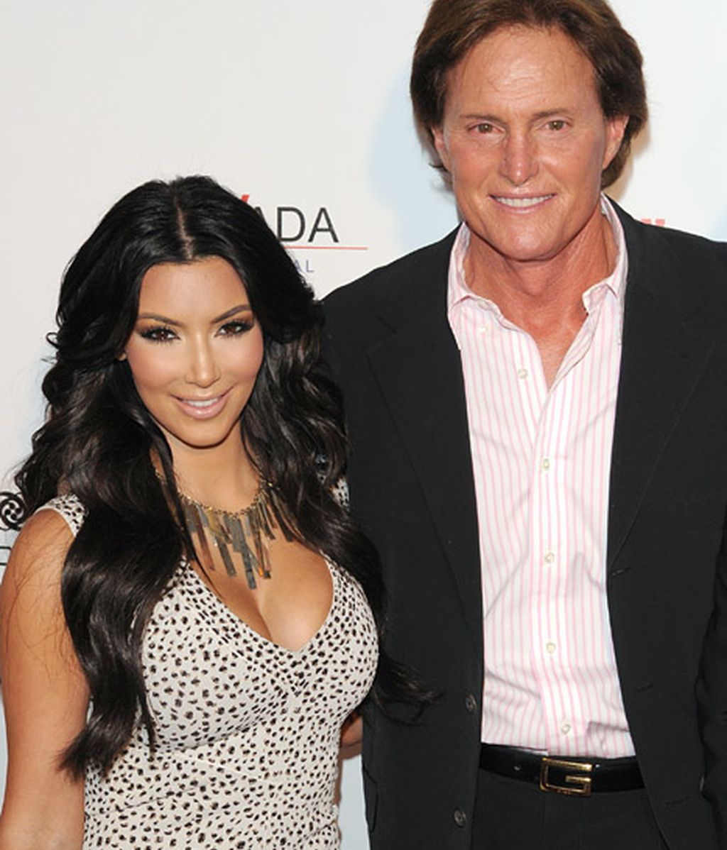Kim kardashian y Bruce Jenner