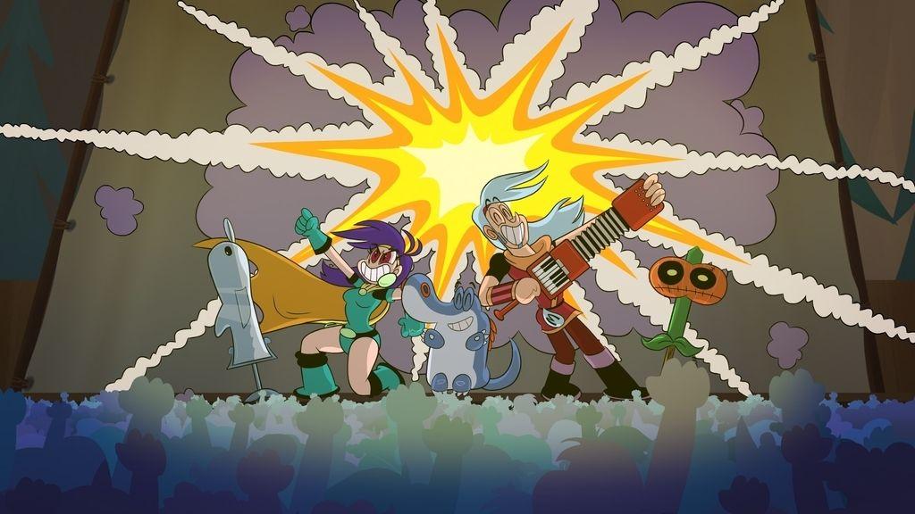 'Poderosas magiespadas' es la nueva serie de Boing