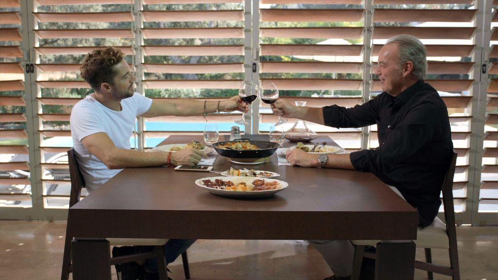 David Bisbal y Bertín Osborne en 'Mi casa es la tuya'