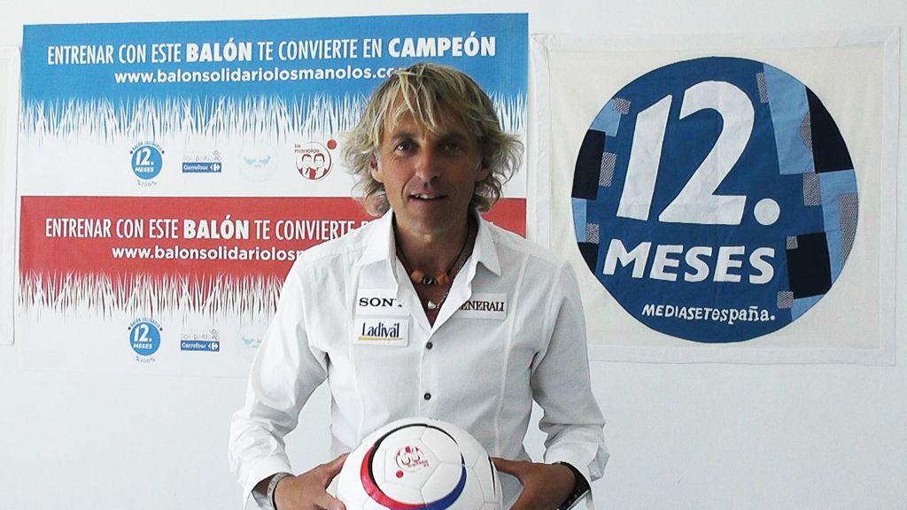 Jesús Calleja ya tiene en sus manos el Balón Solidario, y te quiere proponer una cosa