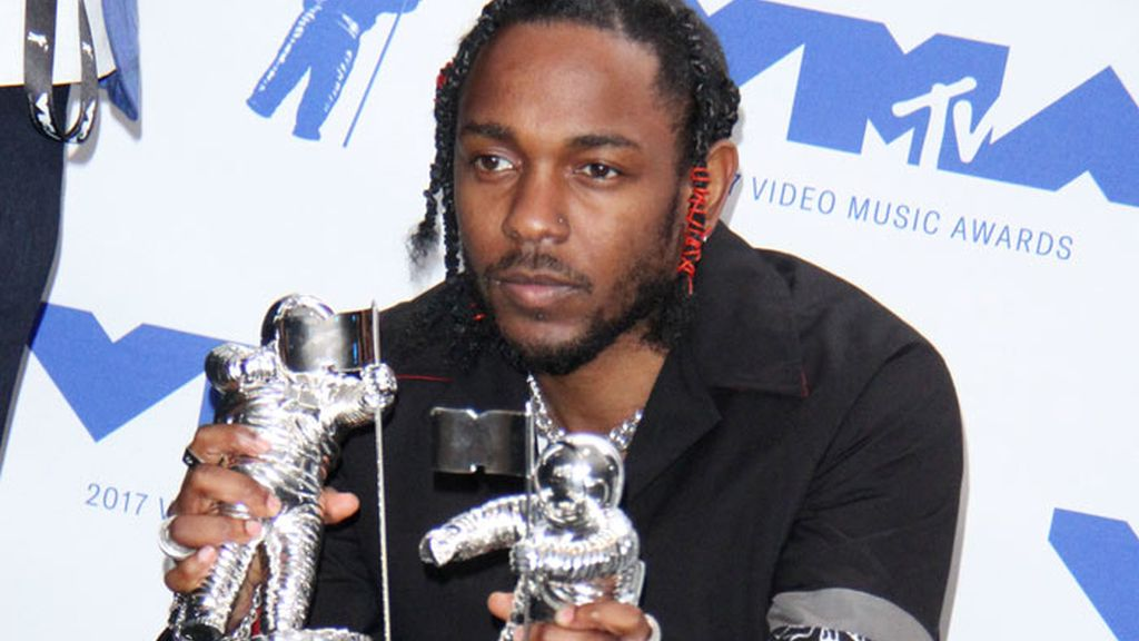 Kendrick Lamar, ganador de seis premios MTV Video Music Awards