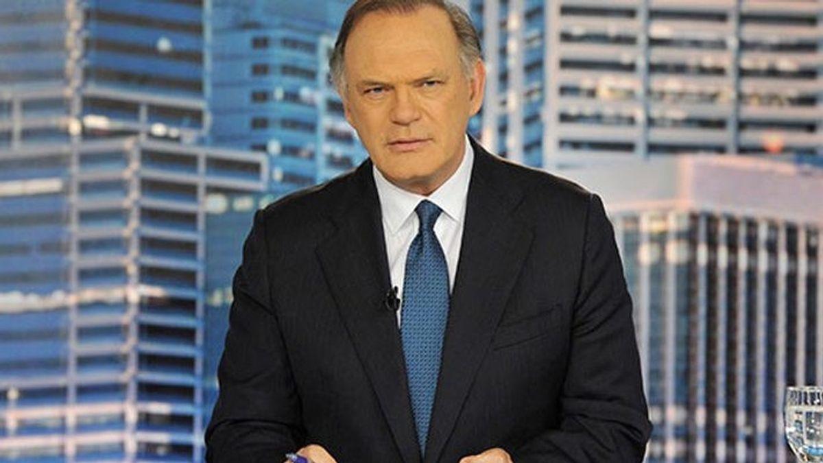 Pedro Piqueras, presentador de 'Informativos Telecinco'