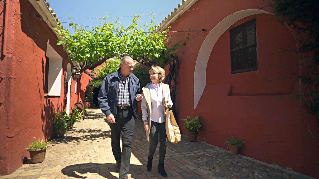 Bertín con Esperanza Aguirre