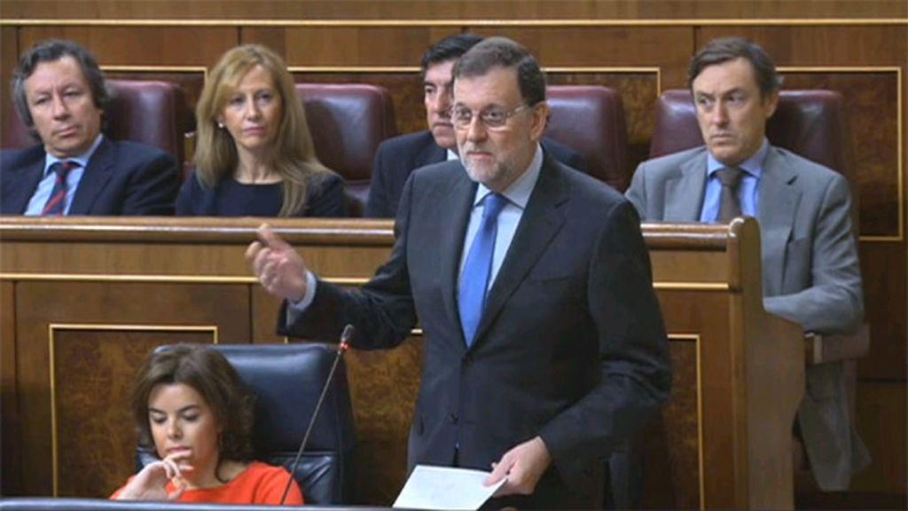 Rajoy en el Pleno del Congreso del 30/11/2016