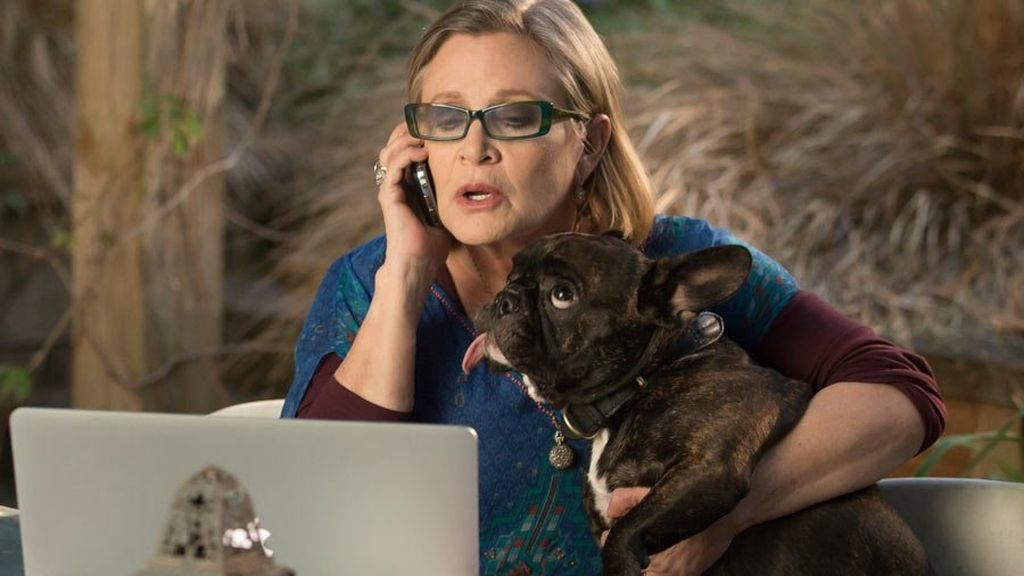 Carrie Fisher en la serie 'Catastrophe'