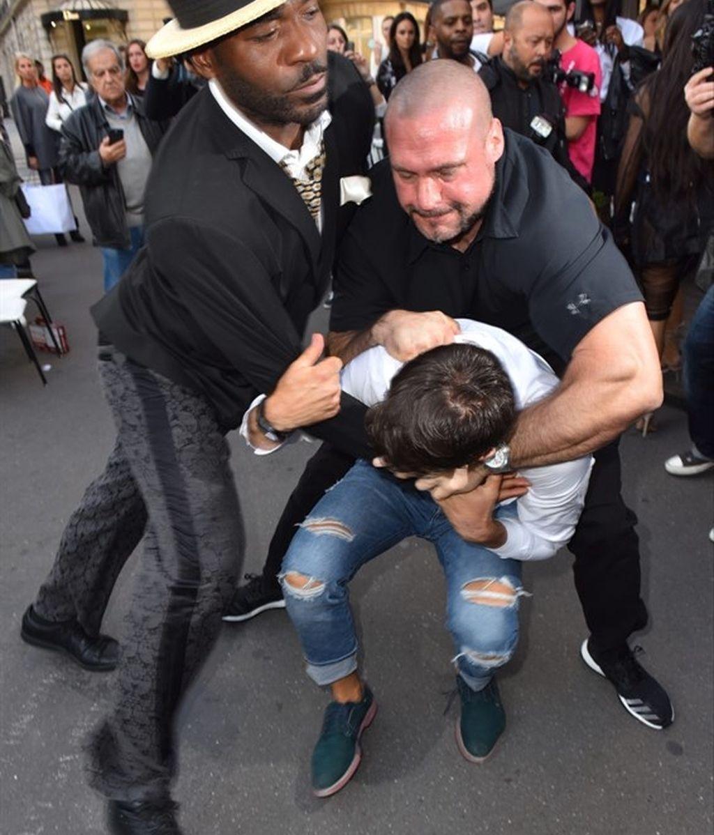 Kim Kardashian agresión