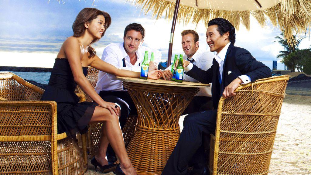 Imagen de los protagonistas de la serie 'Hawai 5.0'