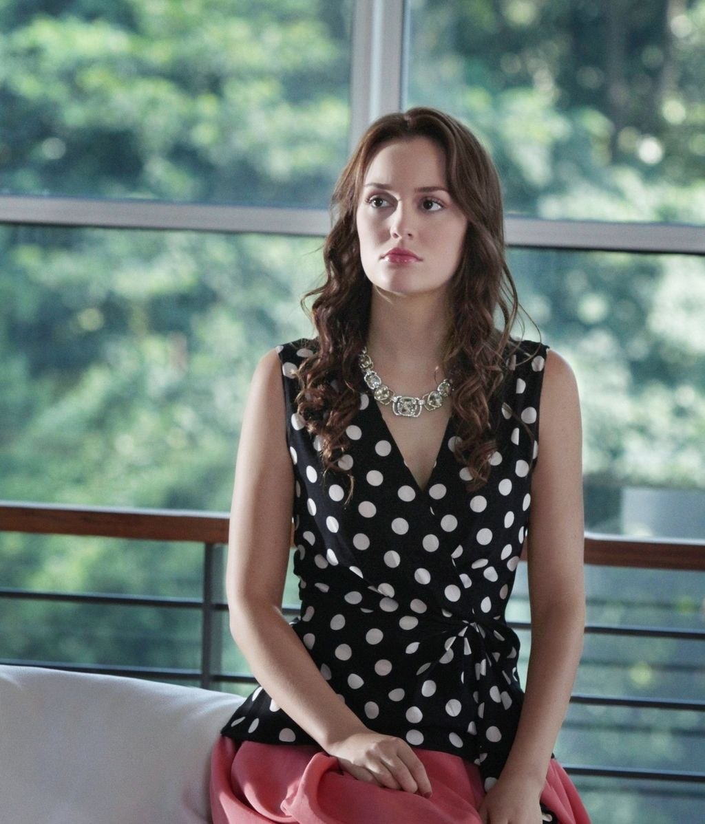 Leighton Meester interpreta a Blair Waldorf en 'Gossip girl'