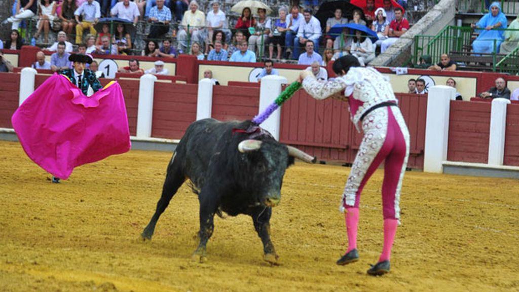 Corrida de toros de la Feria de Valladolid. Septiembre de 2012