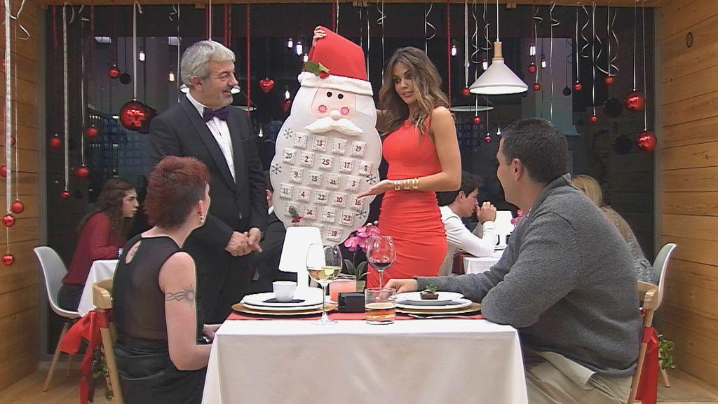 First dates. Nochebuena. Lara Álvarez
