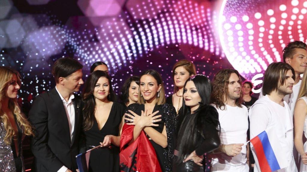 Finalistas Eurovisión