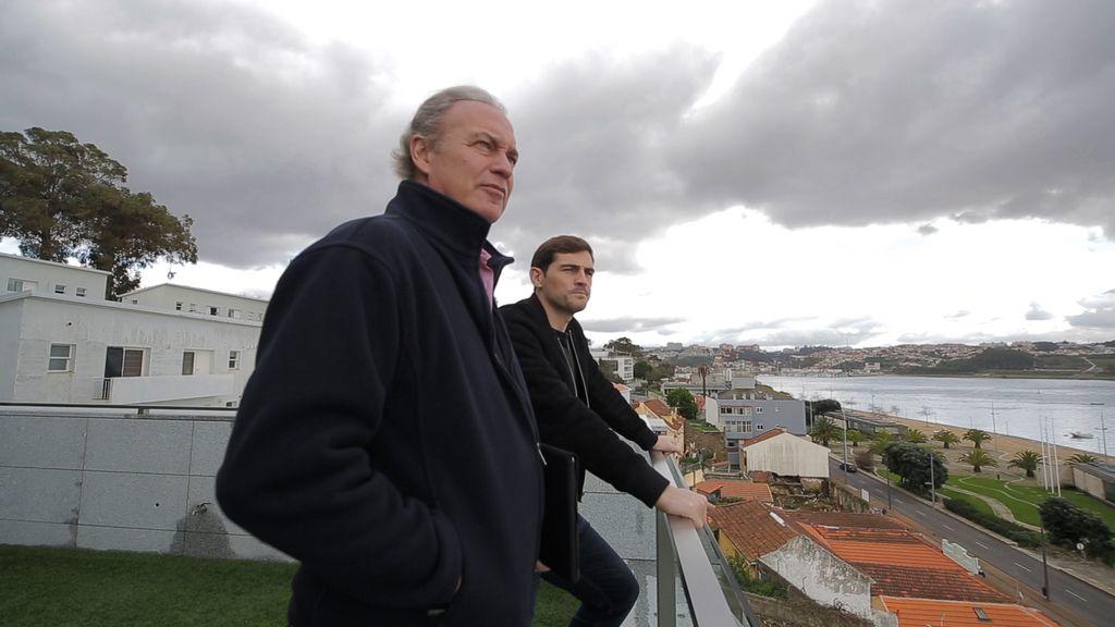 Bertín Osborne con Íker Casillas