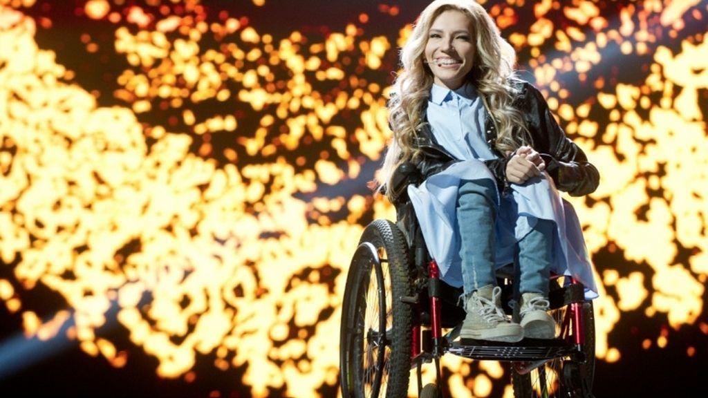 Yulia Samoylova, representante rusa en Eurovisión