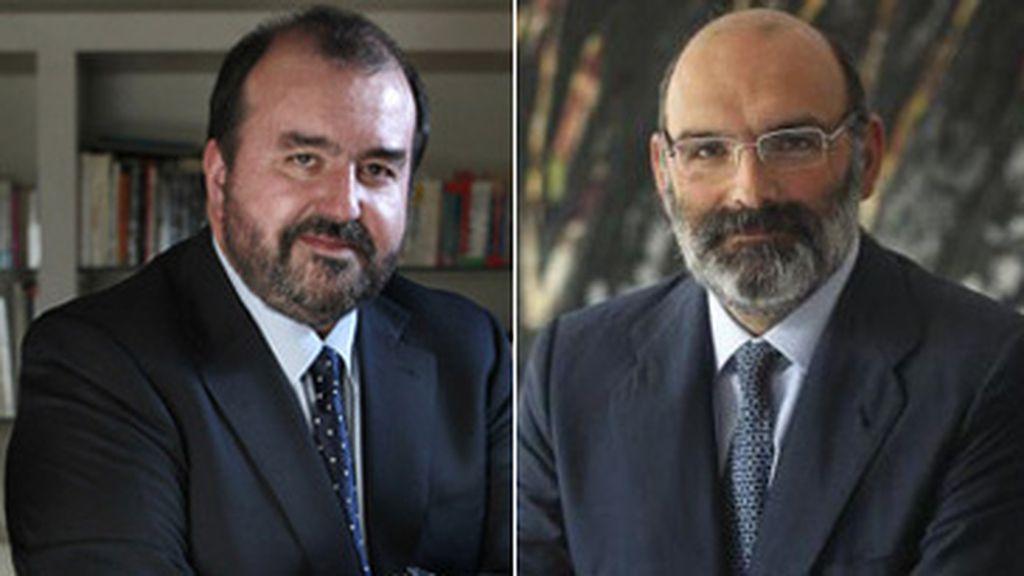 José Luis Sainz y Fernando Abril-Martorell