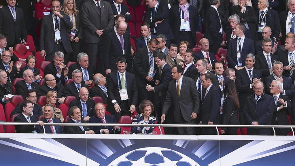 Palco de la Champions