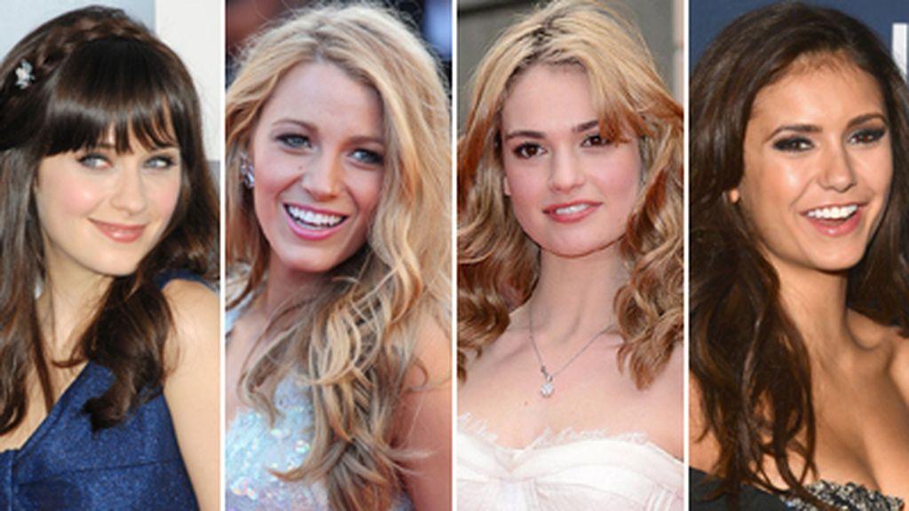 Montaje 'celebrities' más 'sexies' Victoria's Secret