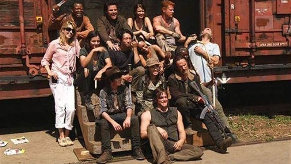 the walking dead con daryl