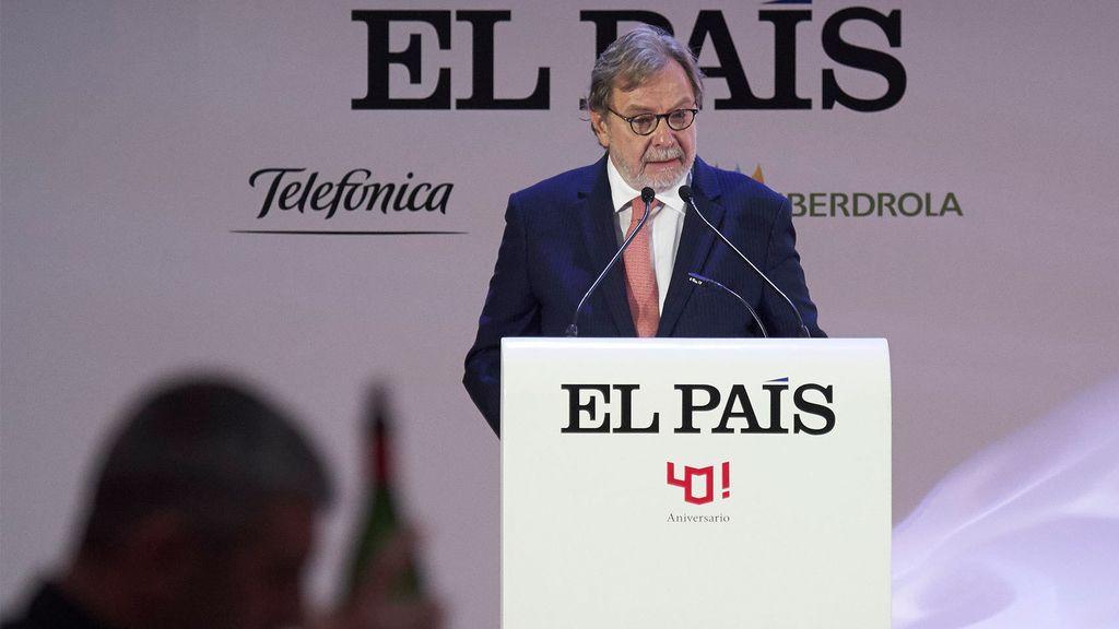 Juan Luis Cebrián, presidente dle grupo PRISA