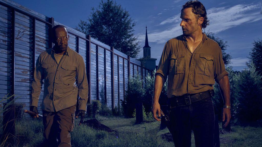 Daryl, Abraham y Sasha hacen frente a nuevos enemigos en 'The walking dead'