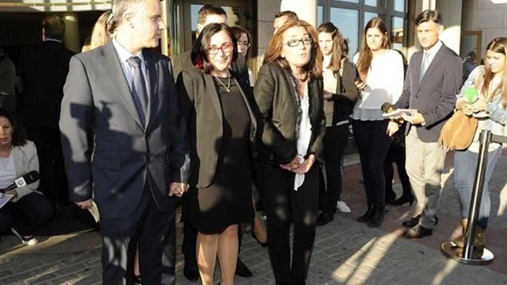 Begoña Fernandez, viuda de Jesús Hermida