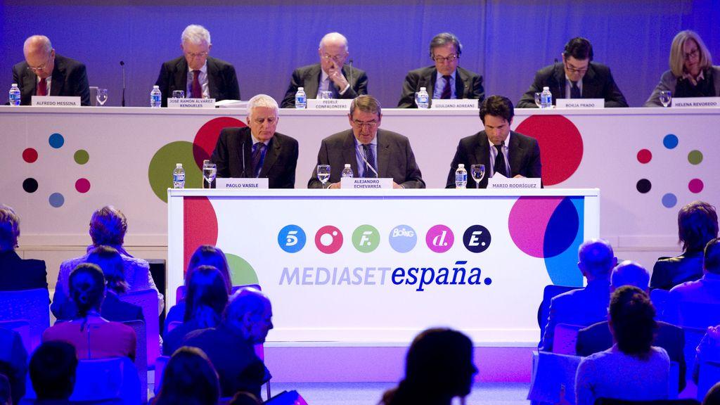 Junta accionistas Mediaset