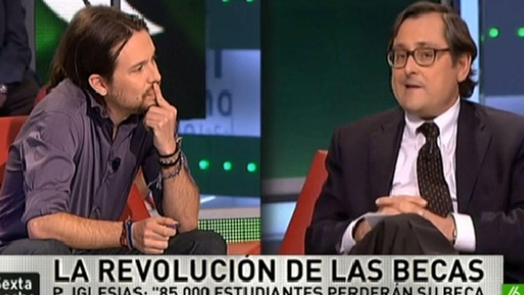 Pablo Iglesias y Marhuenda