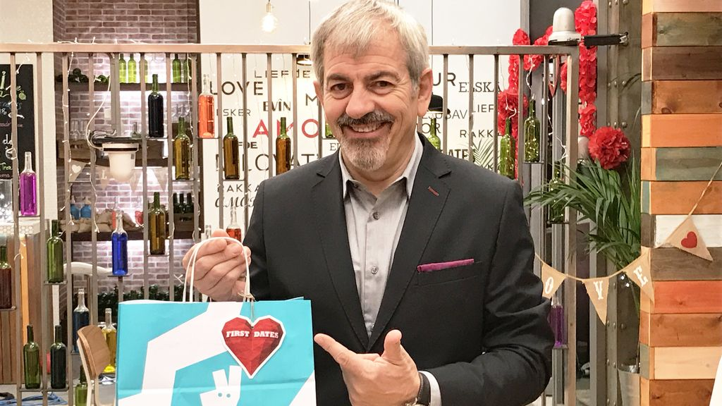 'First dates' reparte a domicilio con Deliveroo