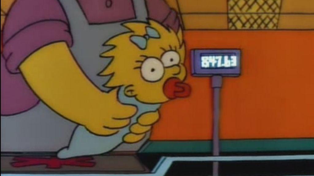 Por qué son amarillos y otras 29 curiosidades sobre 'Los Simpson' - ¿Cuánto cuesta mantener a un bebé? (Maggie en la cabecera)