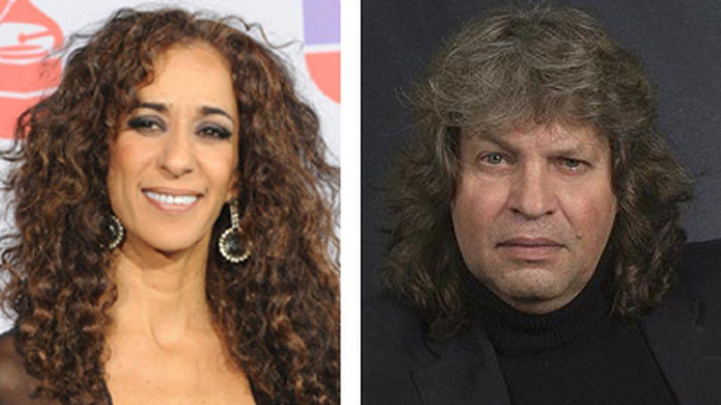 Rosario Flores y José Mercé