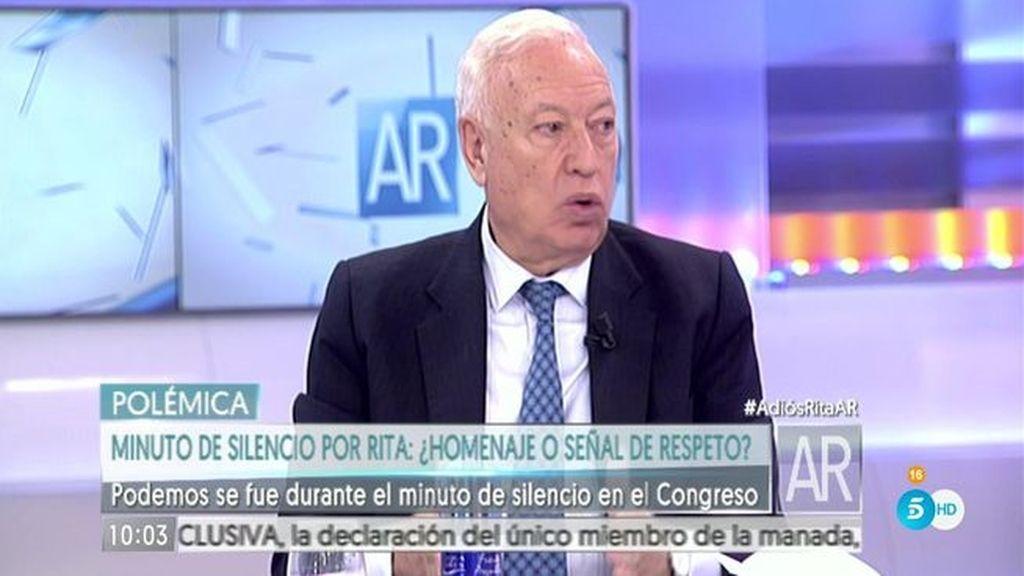 El exministro Margallo, analista en 'El programa de Ana Rosa'
