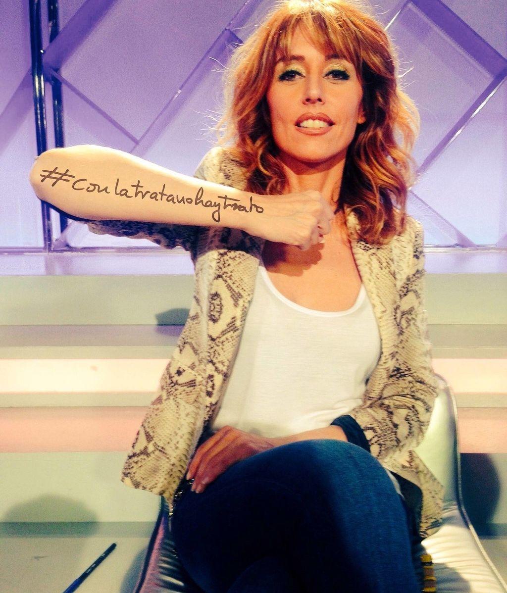 Enma García comprometida campaña ´Con la trata no hay trato'