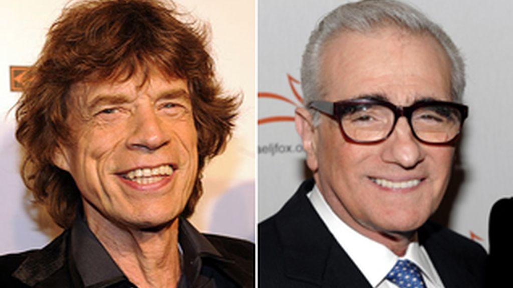 Scorsese y Jagger
