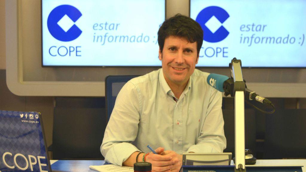 José Luis Pérez, director de informativos del Grupo COPE y 13TV