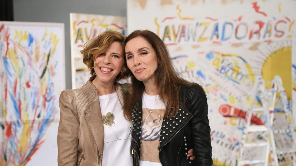 Sole Giménez y Ana Belen