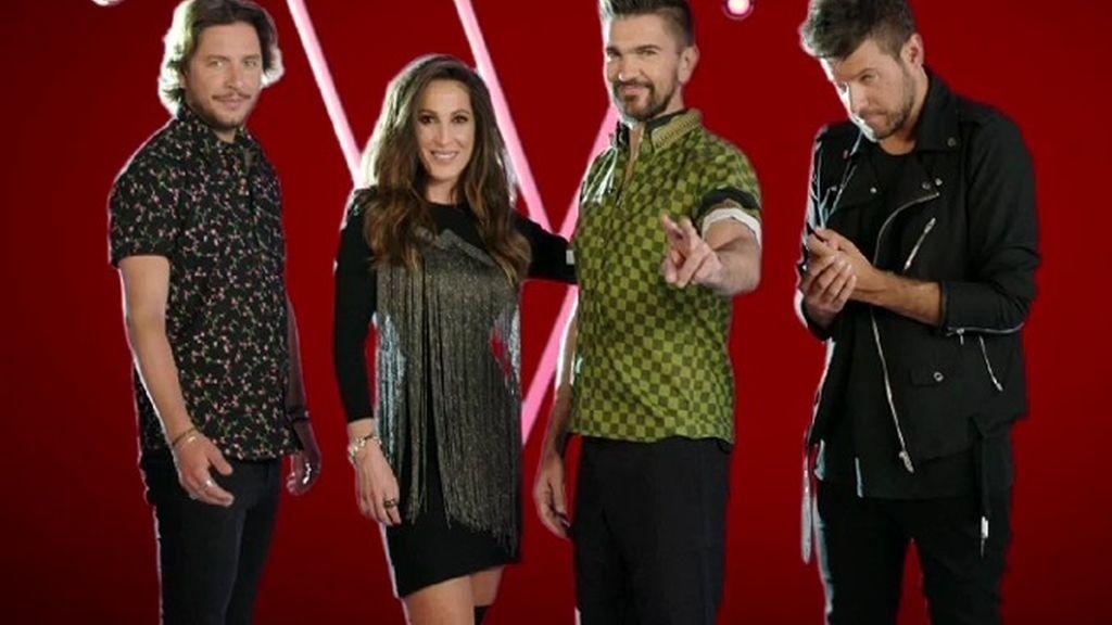 Los concursantes de 'La voz' levantan las manos a ritmo de Mackelmore