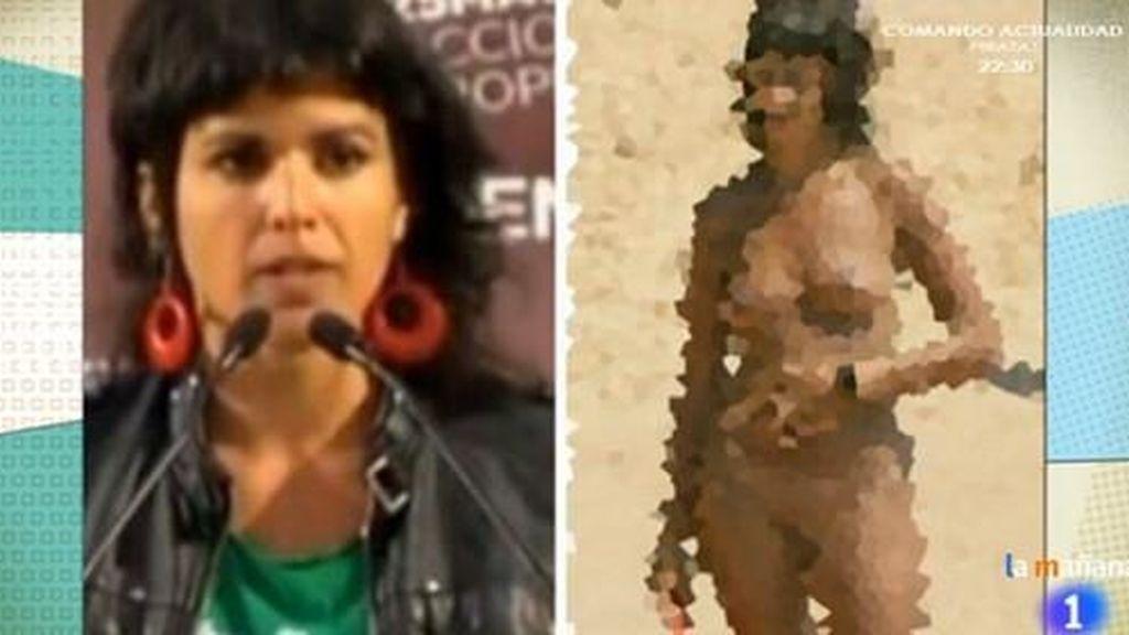 La Líder De Podemos En Andalucía Denuncia A Tve Por Su Falso Desnudo