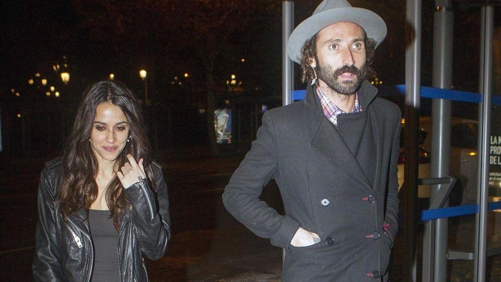 La actriz Macarena García y el cantante Leiva