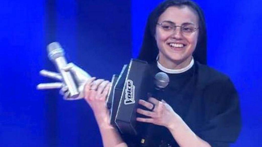 Sor Cristina gana 'La voz' de Italia con el 62% de los votos