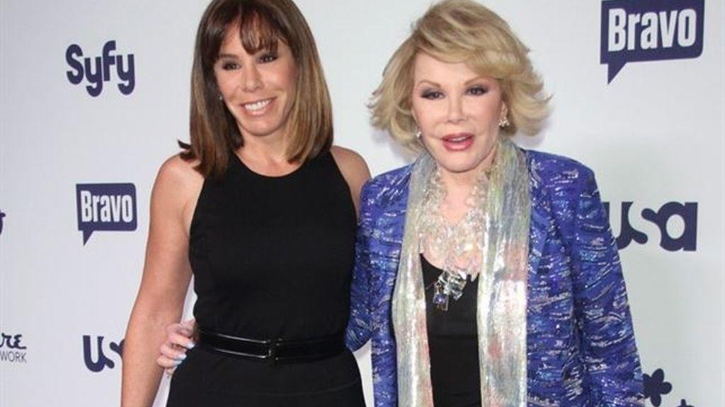 Joan y Melissa Rivers