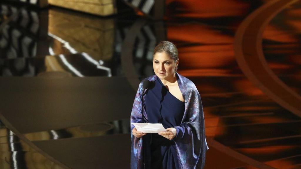 Anousheh Ansari en la gala de los Oscar 2017